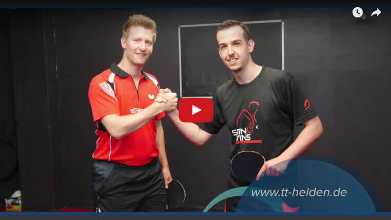 Tischtennis Taktik, Tischtennis Tipps - Lange Noppen, kurze Noppen, Anti-Top